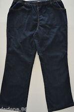 Womens Just My Size  Blue Denim Elastic Waist  Stretch Jeans Pants Plus 2XG EUC