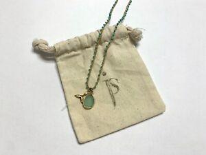 "Jemma Sands Beach 14k Gold Vermeil Gemstone 32"" Beaded Necklace"