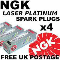 4x NGK Laser Platinum SPARK PLUGS FORD MONDEO 1.8 lt ZETEC / -E 93-->00 No. 5055