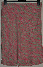Pretty Monsoon Lined Silk Skirt Size 12