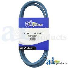 "A78K A-SECTION MADE WITH KEVLAR  (BLUE) V BELT - 1/2"" X 80"""