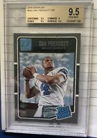 Dak Prescott 2016 Donruss Rated Rookie RC #362 BGS 9.5 GEM Mint!