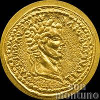 1//2 Half Gram 14mm $1 Dollar Coin COA 2017 PALAU 24K GOLD LAUGHING BUDDHA