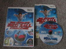 NINTENDO Wii GAME THE ULTIMATE RED BALL CHALLENGE