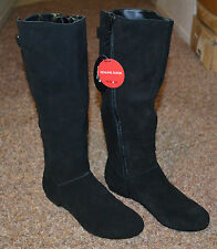NEW ~ STYLE&CO. Women Fashion Mid Calf Black Swade Boots / Size 5.5m / Low Heel