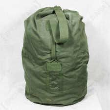 Dutch Army DUFFEL BAG Large 100L Military Rip-Stop Sack Canvas Kit Holdall Pack