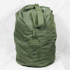 Dutch Army Duffel Bag - Large 100L Military Rip-Stop Sack Canvas Kit Holdall WW2