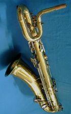 Rebuilt King Zephyr Baritone Saxophone Ready to Play.