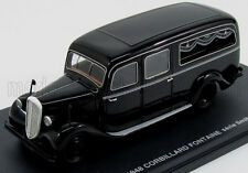 wonderful modelcar CITROEN U23 CORBILLARD FONTAINE HEARSE 1948 - black - 1/43