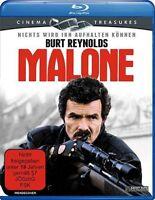 MALONE (1987 Burt Reynolds) - Blu Ray - Sealed Region B for UK