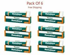 6 x Himalaya Rumalaya Gel for Joint Pain Relief Orthopedic Bone Pain 30gm