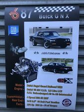 Buick Grand National GNX Turbo Poster 36 X 24 in