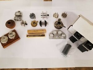 Watch Makers Movement Holders, Main Spring Winder And Oilers (K&D HR Bergeon)