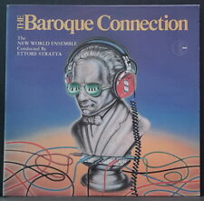 THE BAROQUE CONNECTION ETTORE STARTTA NEW WORLD ENSEMBLE K-TEL NA 609 OZ PRESS