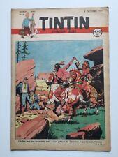 JOURNAL TINTIN 41 Belge 1947 2ème Année Couverture LE RALLIC - BD RARE TBE