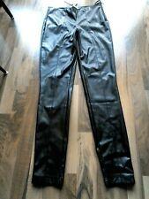 Tom Tailor beschichtete Hose mit Glanzeffekt Röhre bordeaux Größen 36-44 NEU