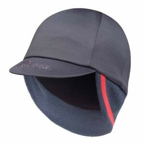 RAPHA Winter Hat - Grey/Orange Wool Blend - One Size