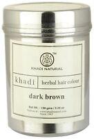 Khadi Herbal Hair Colour Dark Brown 50g