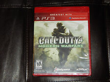 Brand New! Call of Duty 4: Modern Warfare Sony PlayStation 3 PS3 Free Shipping