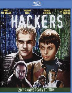 Hackers Blu-ray Disc 2020 Jonny Lee Miller Angelina Jolie Fisher Stevens Bracco