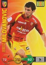 DEJAN MILOVANOVIC # SERBIA RC.LENS CARD CARTE PANINI ADRENALYN FOOT 2010