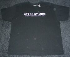 Out of My Mind Please Leave a Message Men's T-Shirt XL Extra Large Tee Funny