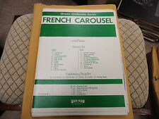French Carousel Romeo 1973 Full Orchestra Sheet music arrangement