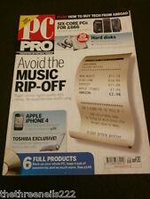 PC PRO #191 - APPLE iPHONE 4 - SEPT 2010