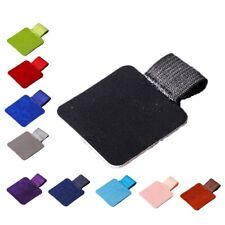 2PCS Self-Adhesive Leather Pen Clip Pencil Elastic Loop For Notebooks Pen Csy++