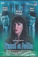 Dvd **PASSI DI FOLLIA** con Victoria Principal nuovo sigillato 1995