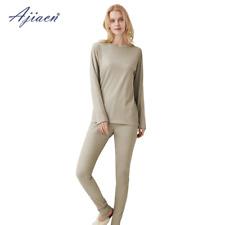 EMF escudo para mujer Long Underwear Profesional Set Protección De Fibra De Plata