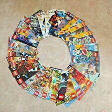 Lego Club Magazine Bionicle Brickmaster Catalog Star Wars Space Racer Ninja Lot
