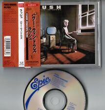 RUSH Power Windows JAPAN CD 1988 2nd issue w/OBI 25.8P-5078 2,500 JPY Free S&H