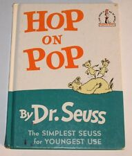 Beginner Books: Hop on Pop by Dr. Seuss (1963, Hardcover, Large Type)