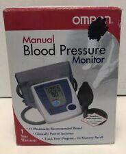 Omron manual blood pressure monitor for upper arm HEM-432C TESTED