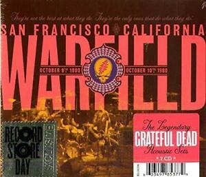 GRATEFUL DEAD The Warfield, San Francisco CA 10/9/80 & 10/10/80 Ltd RSD 2-CD NEW