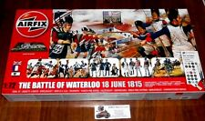 Napoleon War Battle of Waterloo 18 June 1815 Dio + ca. 280 Figuren 1:72 Airfix