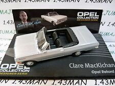 OPE122 voiture 1/43 IXO designer serie OPEL collection : REKORD A C.MacKichan