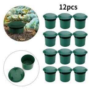 12stk.Falle Schneckenfalle Set Schneckenabwehr Pflanzschutz für Garten Gemüse DE