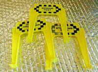 60's Ideal Motorific Torture Slot Car 3 Track Signs Test Shock Spring Steering