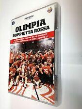Olimpia Doppietta Rossa  DVD Sport Basket Milano Scudetto N° 27 + Coppa Italia