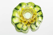 Capiz Floating Water Lily - Votive Candel - Manila Dafodil Yellow