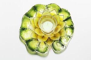 Lotus Flower Lily - Votive Candle - Manila Daffodil Yellow-FREE GIFT WRAP