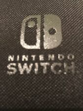 Nintendo Switch Carrying Case Official Material Fabric New