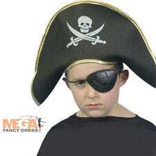 Pirate Fancy Dress Boys Costume Dress Up Kids Hat NEW
