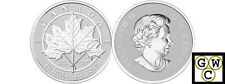 2012 'Maple Leaf Forever' $10 Silver Coin 1/2oz .9999 Fine (NT) (OOAK) (12987)