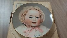 """1982 Seeley's Ceramics Collectors Plate The Doll Collection  BABY DOLLS """"LORI"""""""