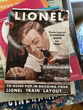 Lionel Train Planning Book From  Late 1940's