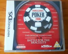 World Series Poker 2008 - Nintendo DS 2DS & 3DS - Girls & Boys Game - NO BOOKLET