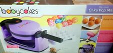 BabyCakes Flip-Over Complete Cake Pops Maker Kit Purple See Pictures